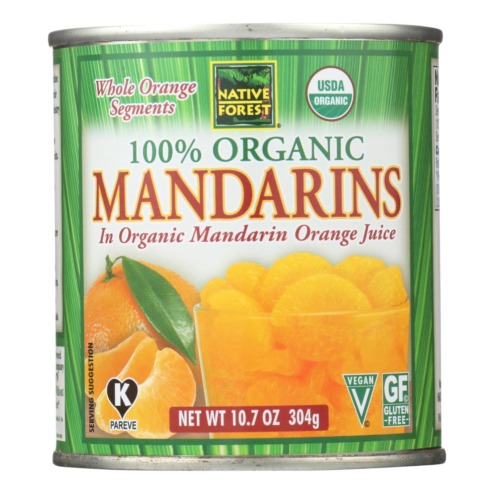 Native Forest Whole Mandarin Oranges (6x1075 Oz)