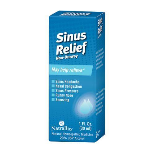 NatraBio Sinus Relief Non-Drowsy (1x1 fl oz)