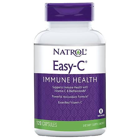 Natrol Natural Easy C 500Mg (1x120 Vcap)