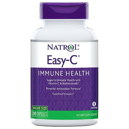 Natrol Easy-C with Bioflavonoids 500 mg (1x240 Veg Capsules)
