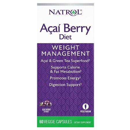 Natrol AcaiBerry Diet (60 Capsules)