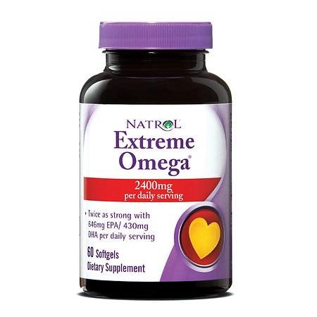 Natrol Extreme Omega 1200 mg (60 Softgels)