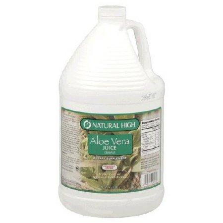 Natural High Aloe Vera Juice (1 Gallon)