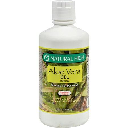 Natural High Aloe Vera Gel (12 x 32 Oz)