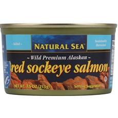 Natural Sea Premium Alaskan Pink Salmon Salted (12x75Oz)