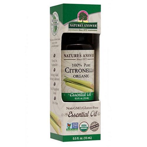 Natures Answer Essential Oil  Organic  Citronella  5 oz