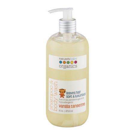 Nature's Baby Organics Shampoo Body Wash Vanilla Tangerine (16 fl Oz)