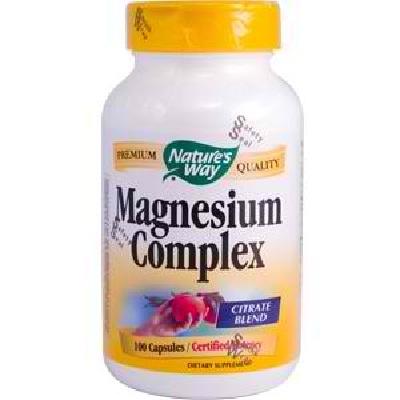 Natures Way Magnesium Complx 500M (1x100CAP )