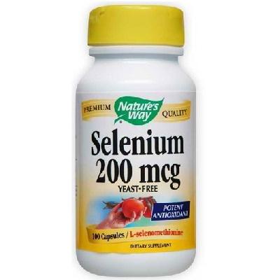 Natures Way Selenium 200 Mcg (1x100CAP )