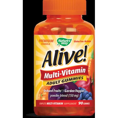 Nature's Way Alive Multi-Vitamin Adult Gummies (90 Gummies)