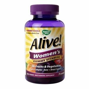 Nature's Way Alive Women's Energy Gummy Multi-Vitamins (75 Chewables)
