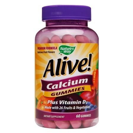 Nature's Way Alive Calcium Gummy (60 Count)