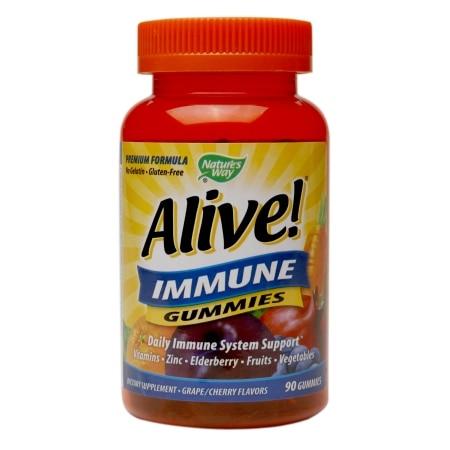 Nature's Way Alive Immune Gummies  90 Count