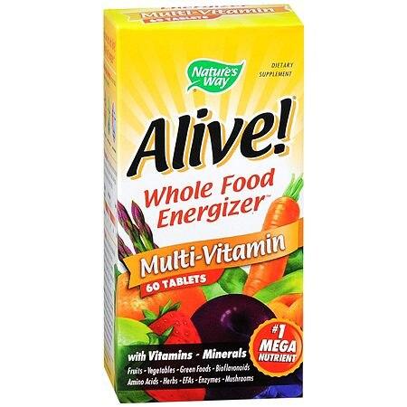 Nature's Way Alive Multi-Vitamin 60 Tablets