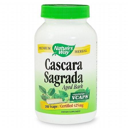 Nature's Way Cascara Sagrada Aged Bark (1x180 Vcaps)