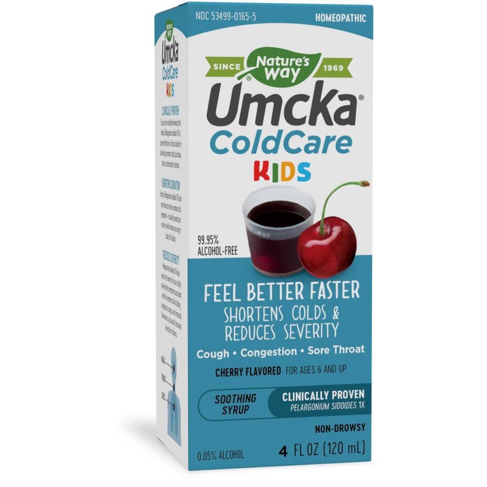 Nature's Way Umcka Children ColdCare Syrup Cherry (4 fl Oz)