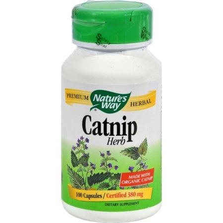 Nature's Way Organic Catnip Herb (100 Capsules)