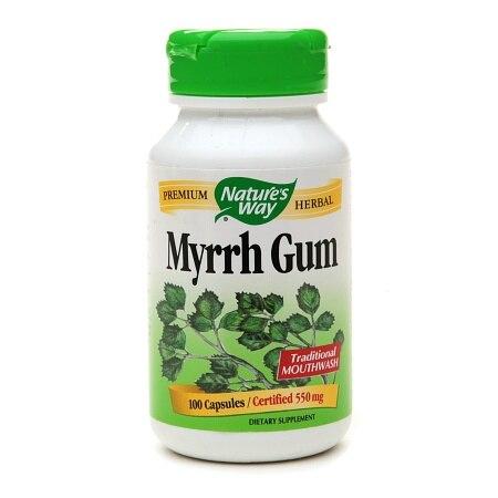 Nature's Way Myrrh Gum 550 mg (100 Capsules)