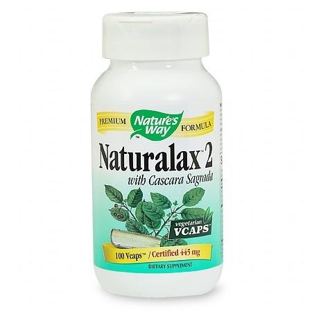 Nature's Way Naturalax 2 with Cascara Sagrada 100 Vcaps
