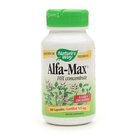 Nature's Way Alfa-Max 10X Concentrate (100 Capsules)