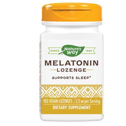 Nature's Way Melatonin Lozenge Fruit 25 mg (1x100 Lozenges)
