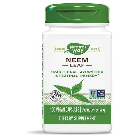 Nature's Way Neem 475 mg (100 Capsules)