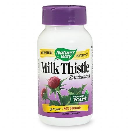 Nature's Way Milk Thistle Standardized (60 Veg Capsules)