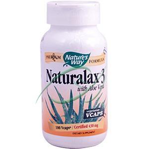 Nature's Way Naturalax 3 with Aloe (100 Veg Capsules)