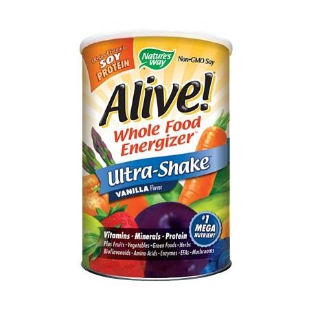 Nature's Way Alive Soy Protein Ultra-Shake Vanilla 21 Oz