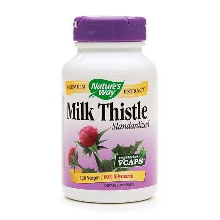 Nature's Way Milk Thistle Standardized (1x120 Veg Capsules)