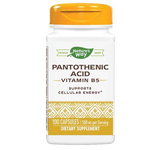 Nature's Way Pantothenic Acid 250 mg (100 Capsules)