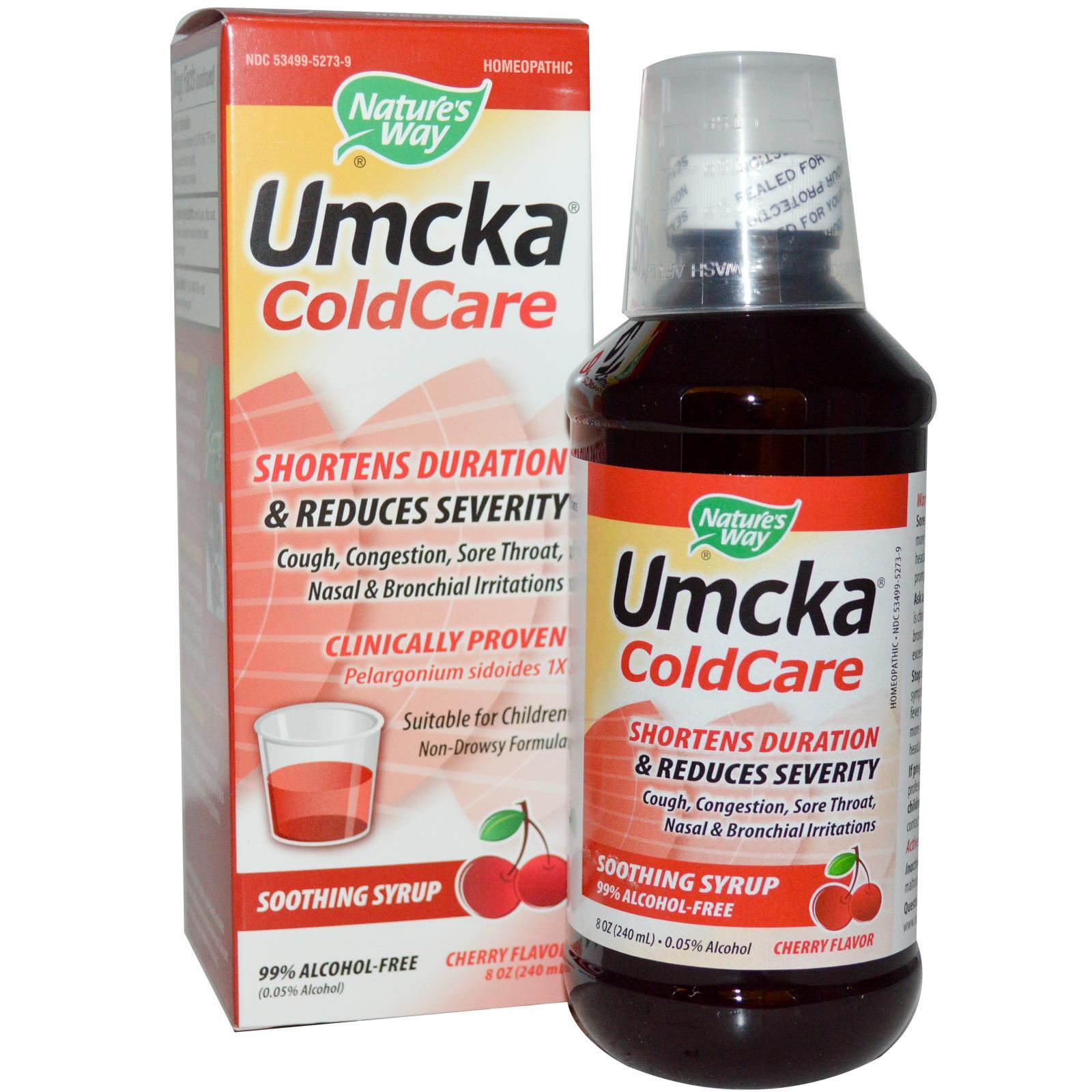 Nature's Way Umcka ColdCare Syrup Cherry (8 fl Oz)