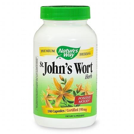 Nature's Way St John's Wort Herb (180 Capsules)