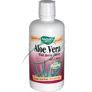 Nature's Way Aloe Vera Gel and Juice Wild Berry (338 fl Oz)