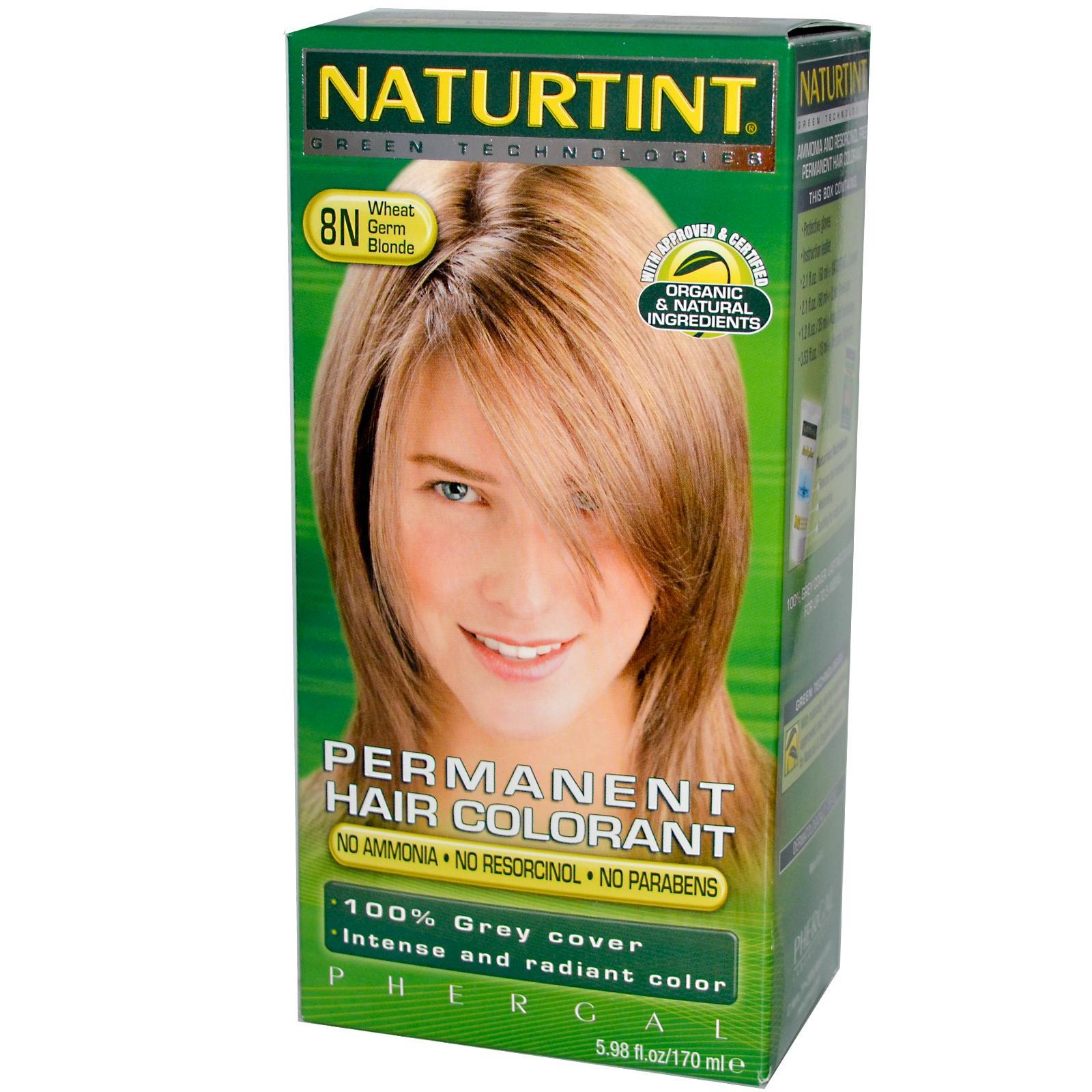 Naturtint 8n Wheat Germ Blonde Hair Color (1xKit)