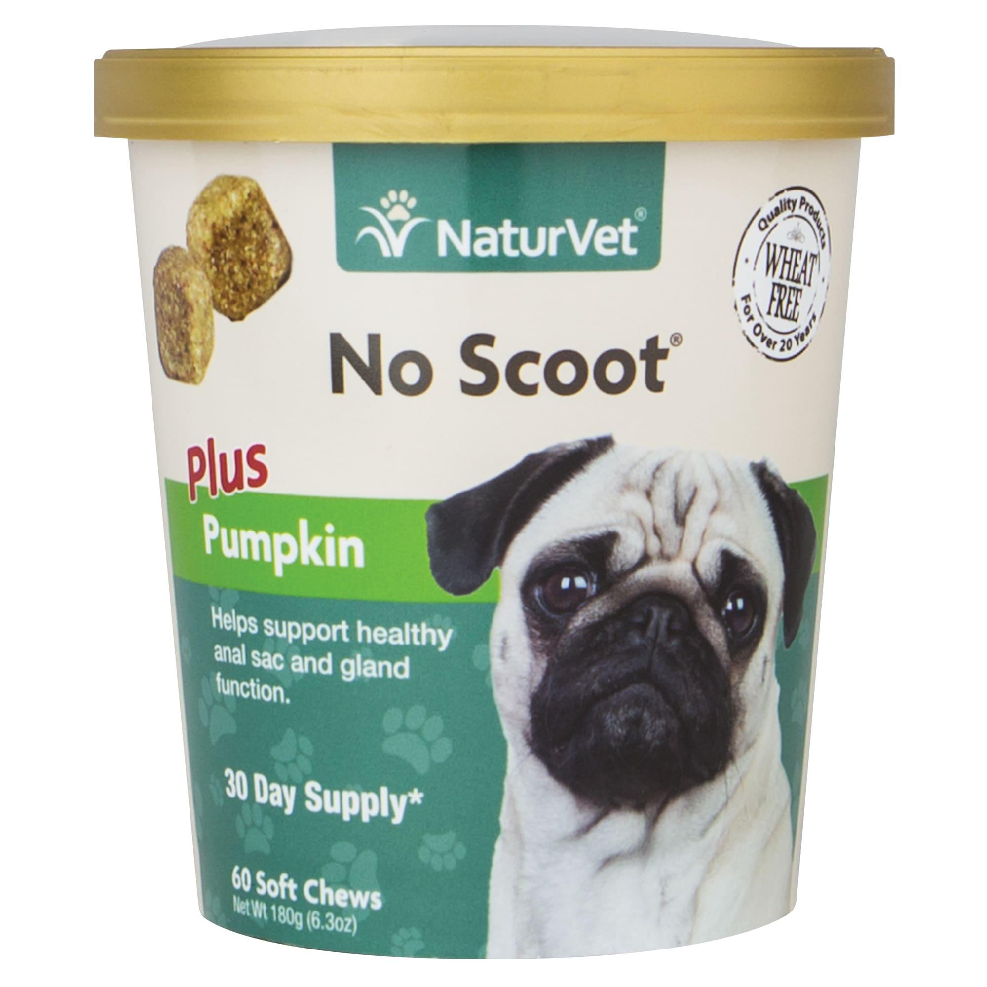 NaturVet No Scoot  Plus Pumpkin  Dogs  Cup  60 Soft Chews