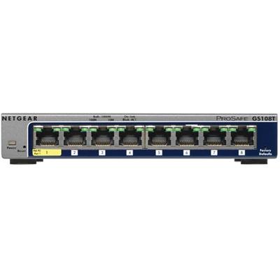 8 Port Gig Smart Mged Switch