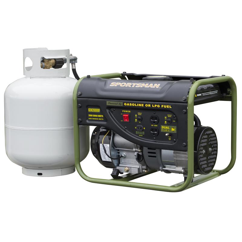 Sportsman 2000 Watt Dual Fuel Generator