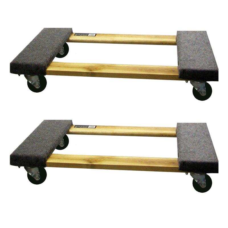 Buffalo Tools 2 Piece 1000 Lb Furniture Dolly Set