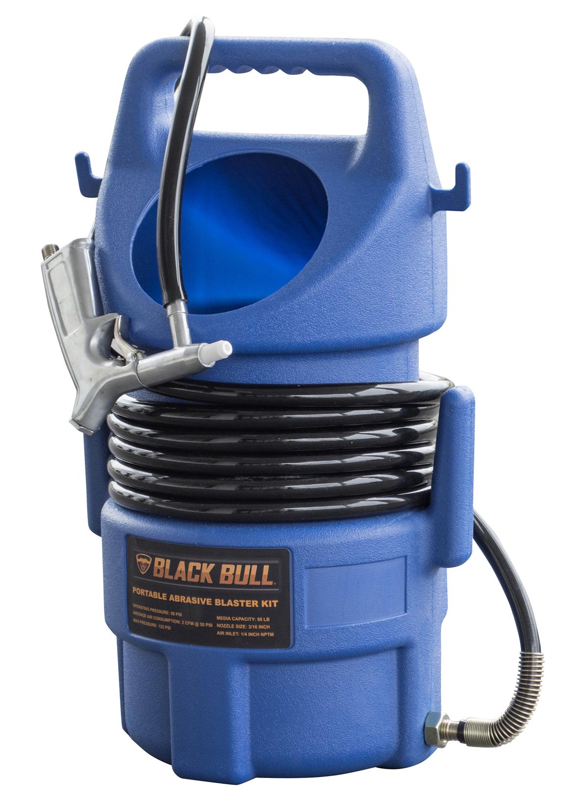 50 Lbs Capacity Portable Abrasive Blaster Kit