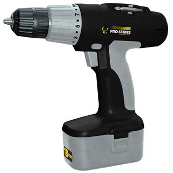Pro-Series 18 Volt Cordless Drill