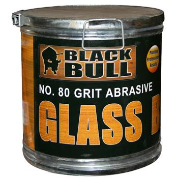 Black Bull 80 Grit Abrasive Glass Beads