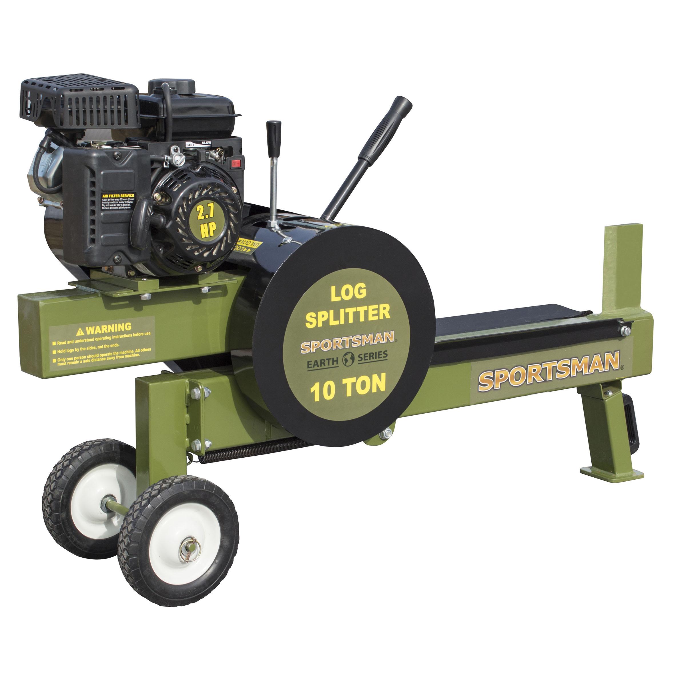 Sportsman Earth Series 10 Ton Gas Powered Kinetic Log Spitter