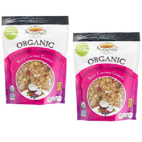 New England Naturals Berry Coconut Granola Uns (6x12OZ )