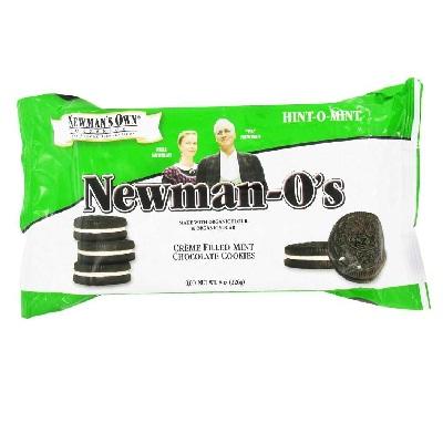 Newmans Own Organics Os Mint Creme (6x8OZ )