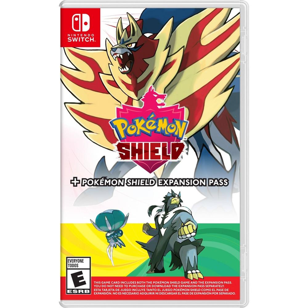 Pokemon Shield + Expansion Pas