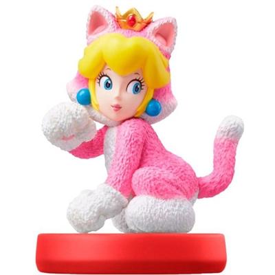 Amiibo Cat Peach SMario Series