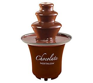 Nostalgia 3-Tier 1/2-Pound Chocolate Fondue Fountain