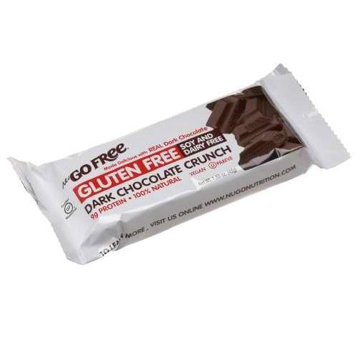 Nugo Dark Chocolate Crunch Bar (12x45 GM)
