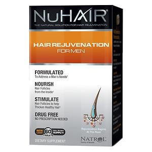 NuHair Hair Regrowth for Men 60 Tablets